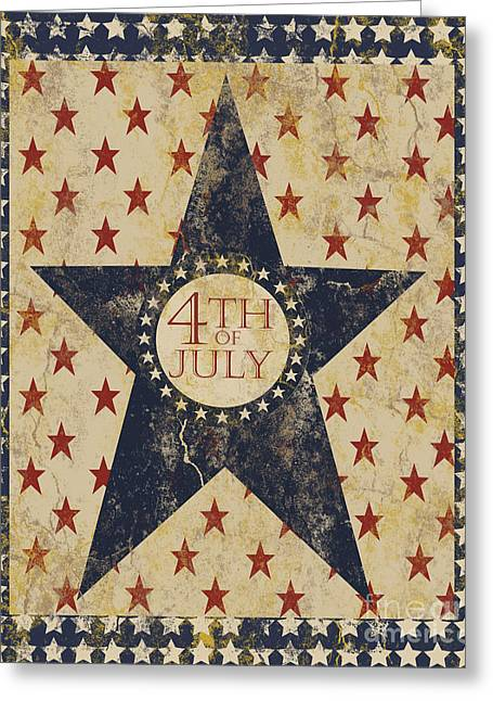 4th Of July Americana Greeting Card