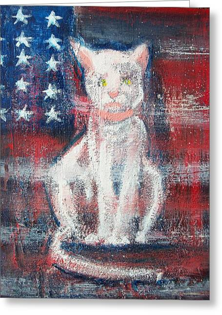4th Of July Baby Greeting Card by Roxanna Finch