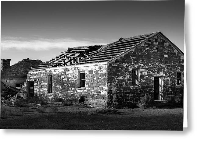 Abandoned Places Greeting Card by Jon Manjeot