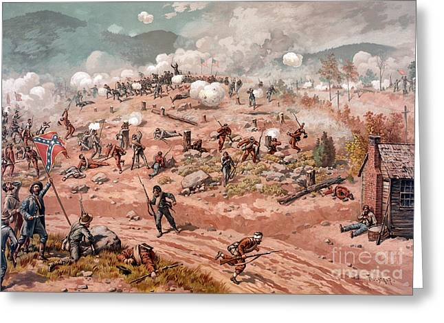 American Civil War, Battle Greeting Card