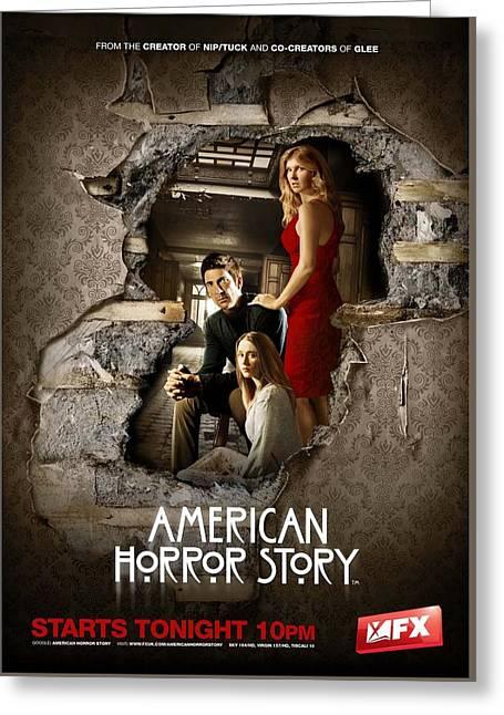 American Horror Story 2011 Greeting Card