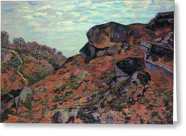 Art Paintings Greeting Card by Armand Guillaumin
