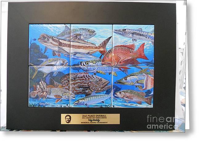Art Trophies Greeting Card