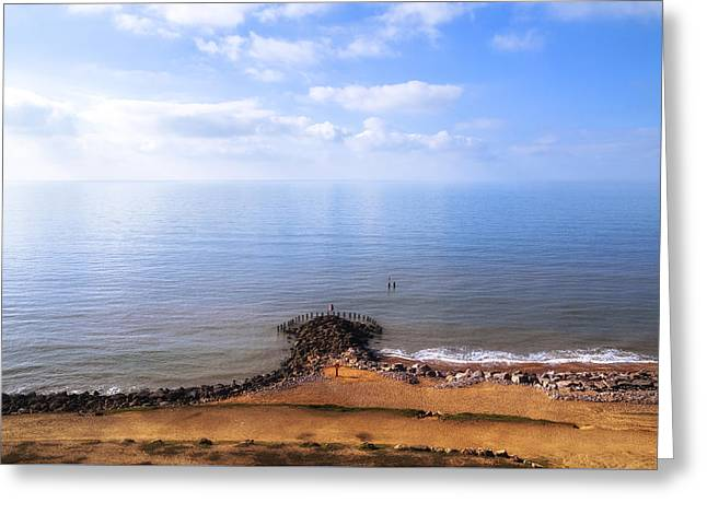 Barton On Sea - England Greeting Card