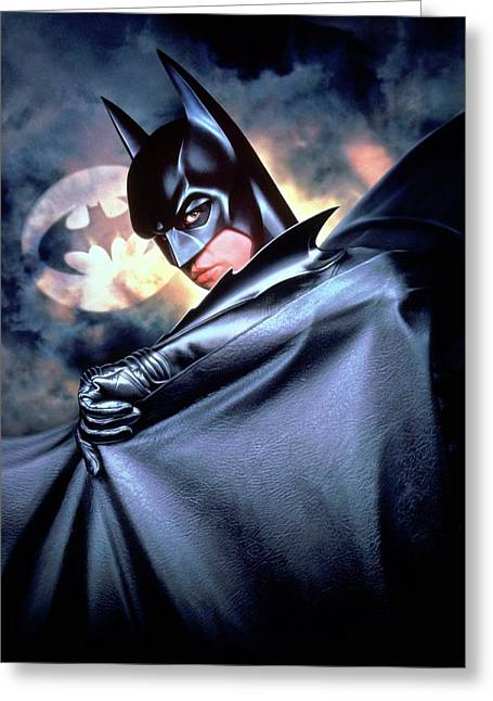 Batman Forever 1995 Greeting Card by Unknown
