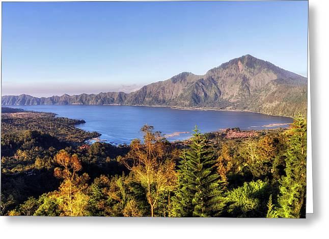 Batur - Bali Greeting Card