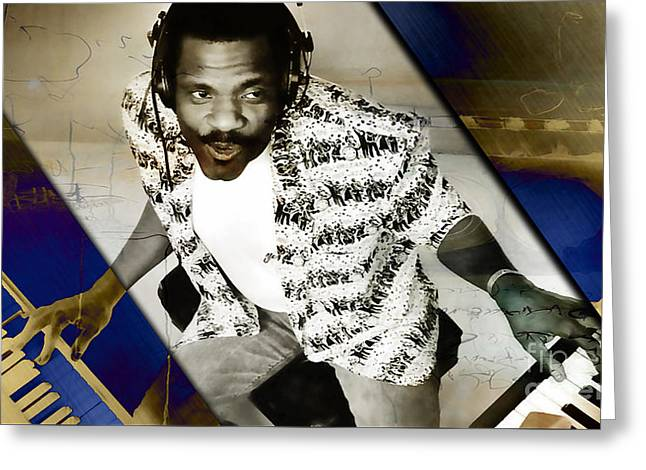 Billy Preston Collection Greeting Card by Marvin Blaine