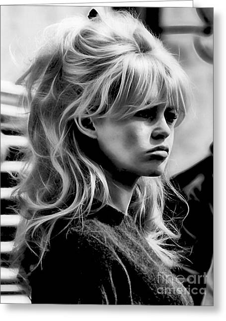 Brigitte Bardot Collection Greeting Card
