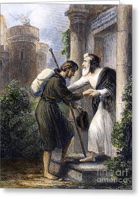 Bunyan: Pilgrims Progress Greeting Card by Granger
