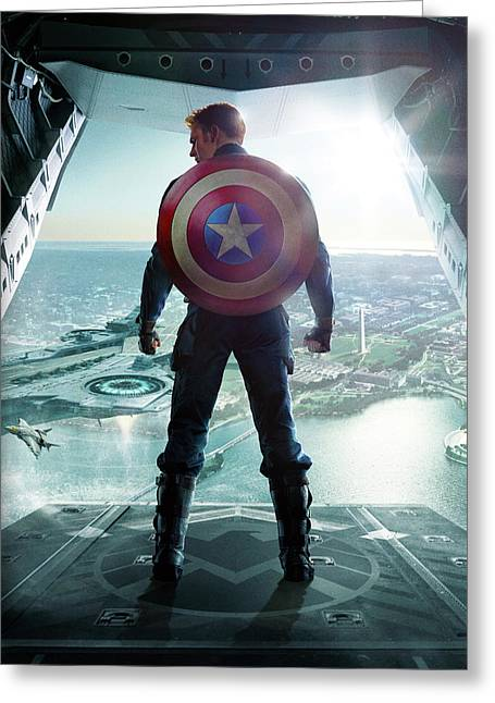 Captain America The First Avenger 2011 Greeting Card by Unknown