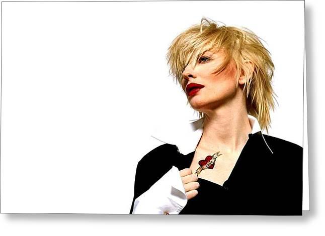 Celebrity Cate Blanchett                    Greeting Card