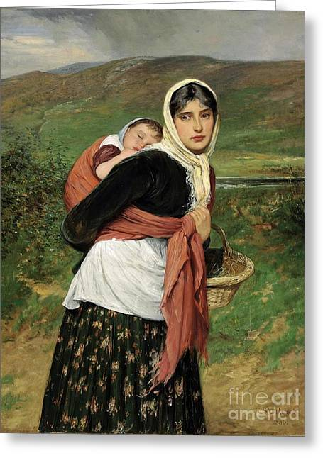 Charles Sillem Lidderdale Greeting Card by MotionAge Designs