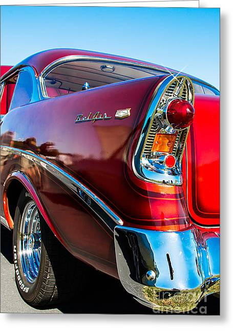 56 Chevy Bel Air Greeting Card