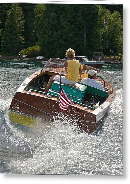 Chris-craft Classic Greeting Card