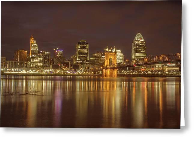 Cincinnati, Ohio Greeting Card by Scott Meyer