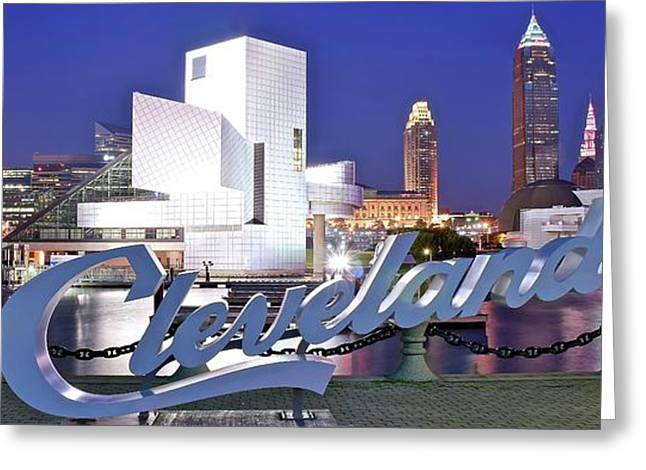 Cleveland Ohio Greeting Card