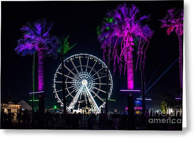 Coachella Music Festival 2015 Greeting Card by Art K