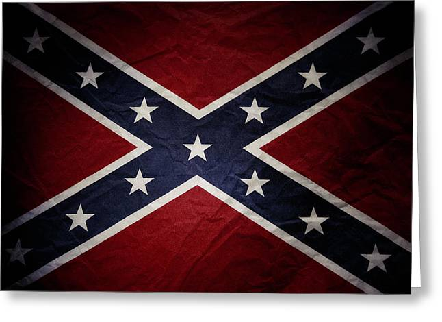 Confederate Flag 8 Greeting Card