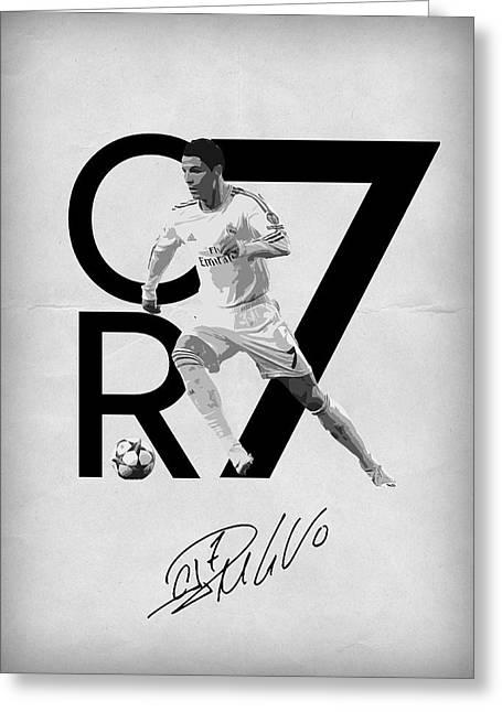 Cristiano Ronaldo Greeting Card