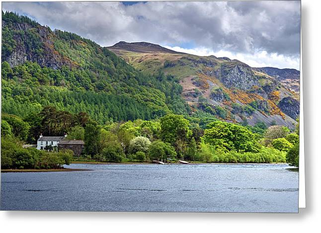 Derwentwater - Lake District Greeting Card by Joana Kruse