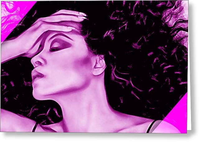 Diana Ross Collection Greeting Card