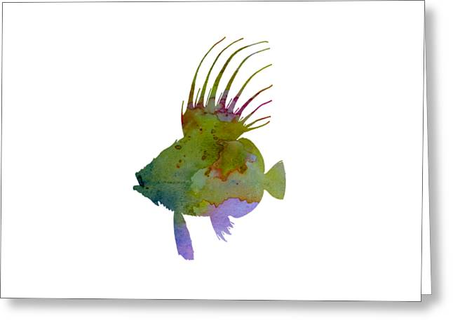 Dory Fish Greeting Card by Mordax Furittus