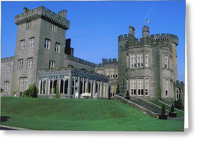 Dromoland Castle In Ireland Greeting Card by Carl Purcell
