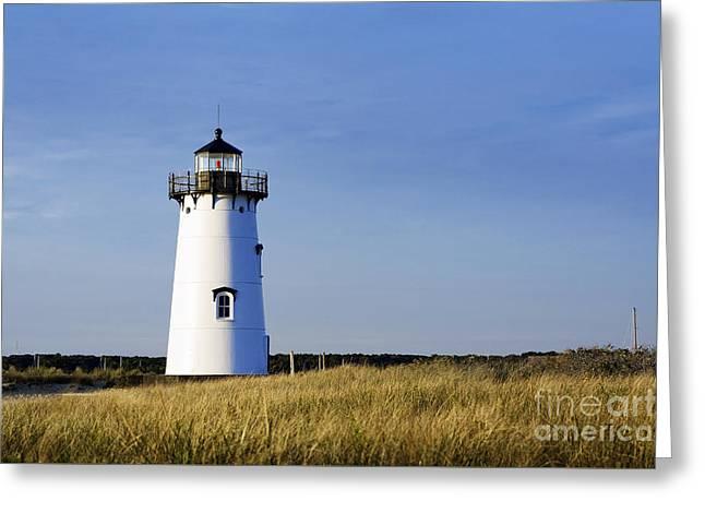 Edgartown Lighthouse Greeting Card by John Greim
