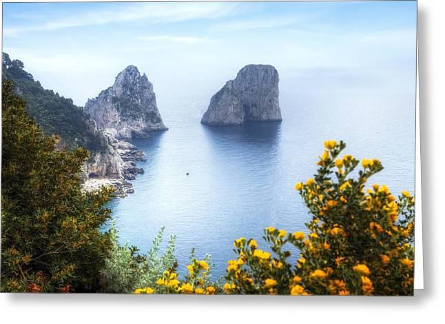 Faraglioni - Capri Greeting Card