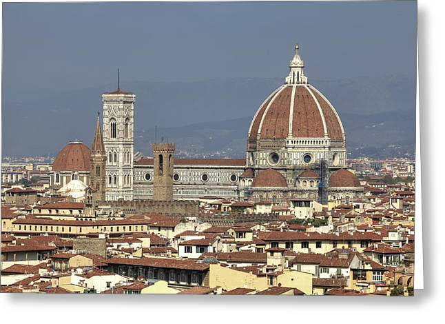 Campanile Greeting Cards - Florence Greeting Card by Joana Kruse