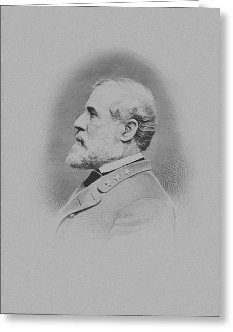 General Robert E Lee Greeting Card