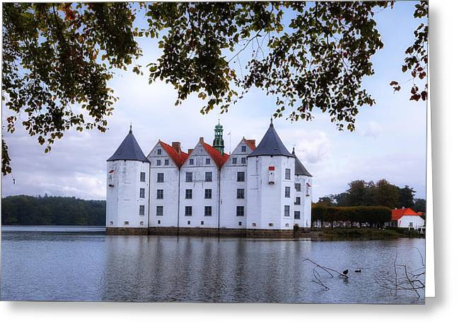 Gluecksburg Castle - Germany Greeting Card