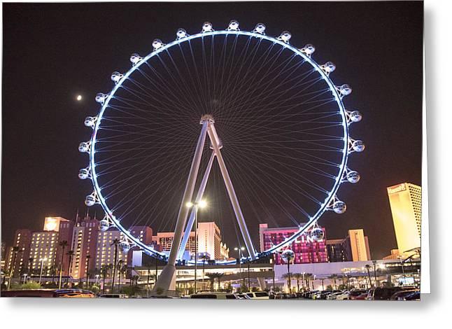 High Roller - Las Vegas Nevada Greeting Card