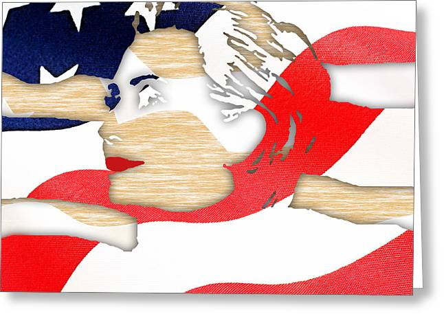 Hillary Clinton 2016 Collection Greeting Card by Marvin Blaine