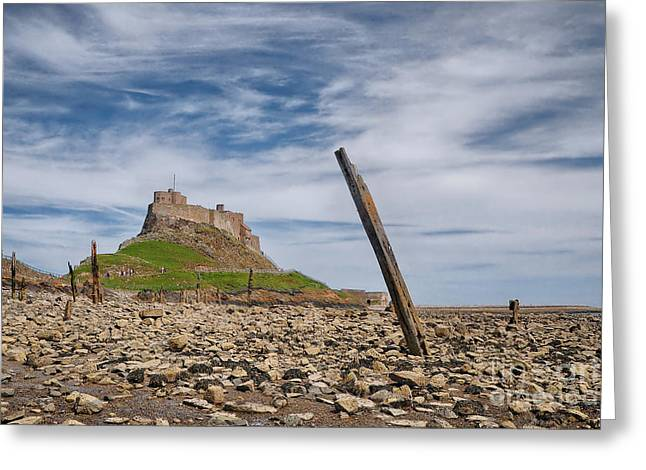 Holy Island Of Lindisfarne Greeting Card