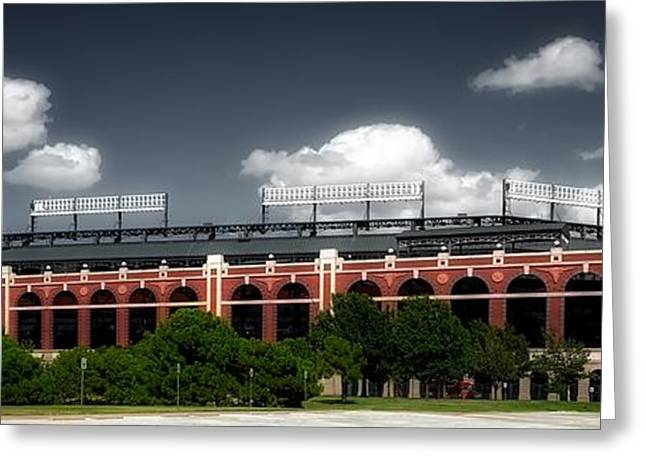 Home Of The Texas Rangers Greeting Card by Mountain Dreams