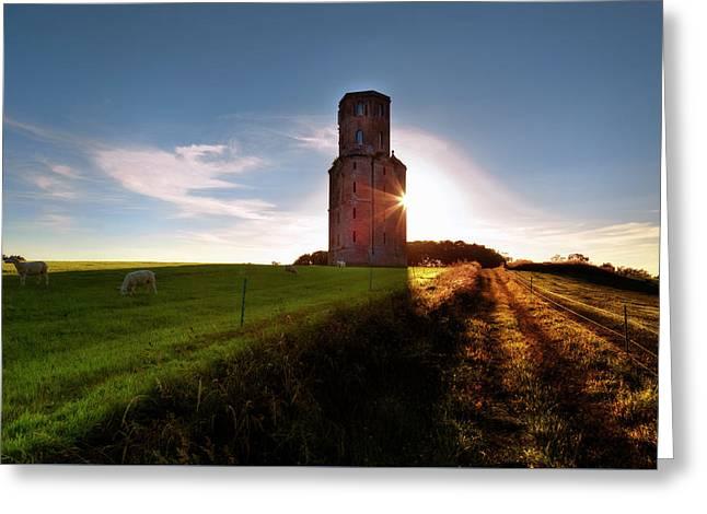 Horton Tower - England Greeting Card