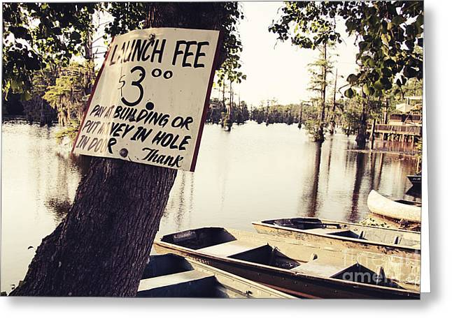 Launch Fee Greeting Card by Scott Pellegrin