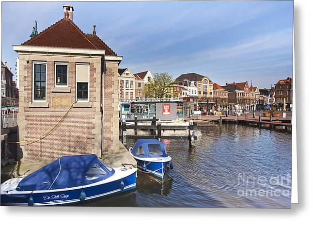 Leiden Greeting Card by Andre Goncalves
