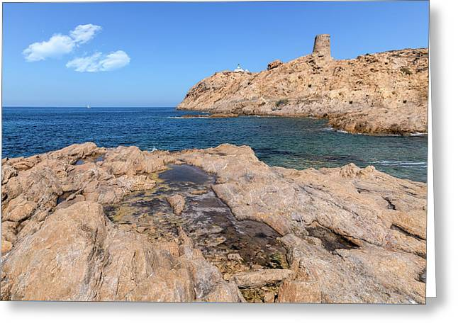L'ile Rousse - Corsica Greeting Card
