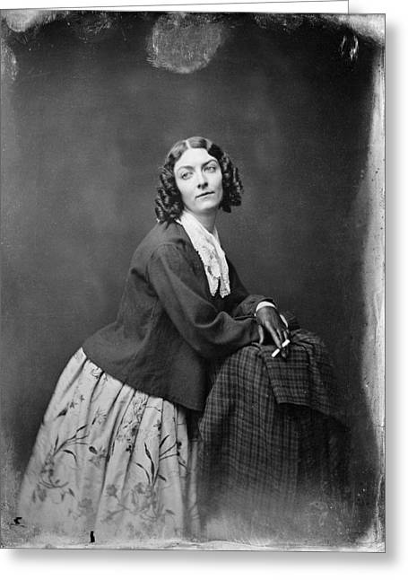 Lola Montez (1818?-1861) Greeting Card by Granger