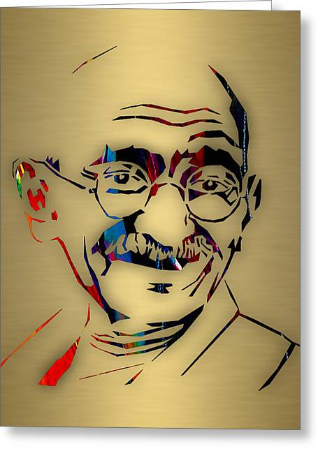 Mahatma Gandhi Collection Greeting Card