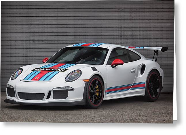 #martini #porsche 911 #gt3rs #print Greeting Card