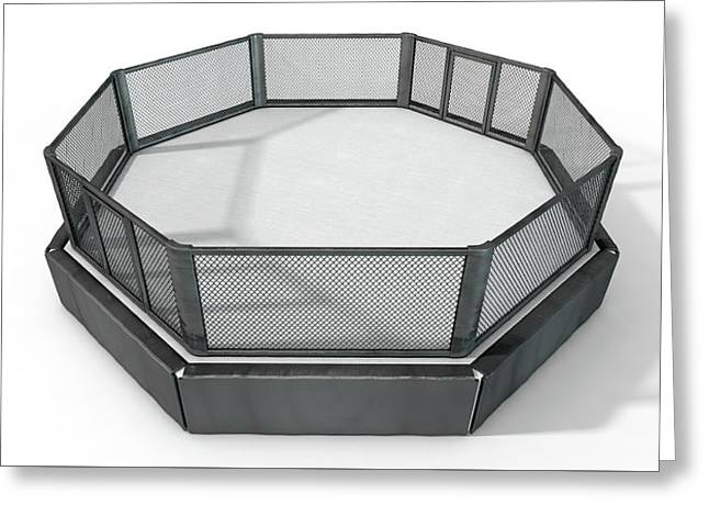 Mma Cage Greeting Card