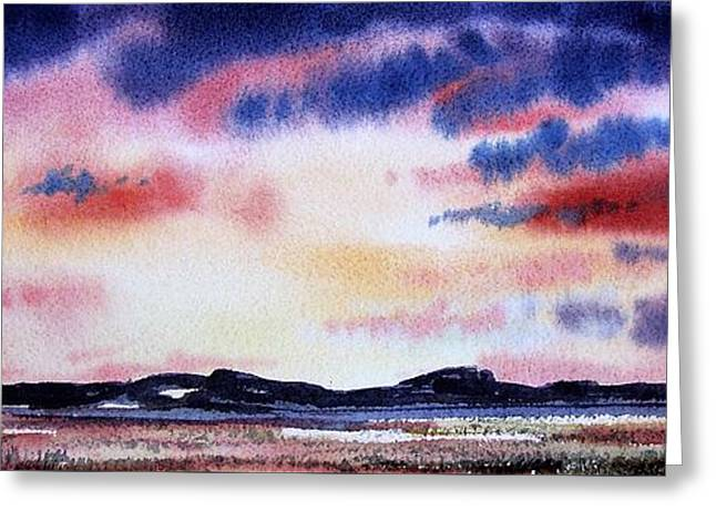 Montana Landscape Greeting Card by Kevin Heaney