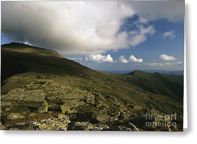 Mount Washington - White Mountains New Hampshire Usa Greeting Card by Erin Paul Donovan