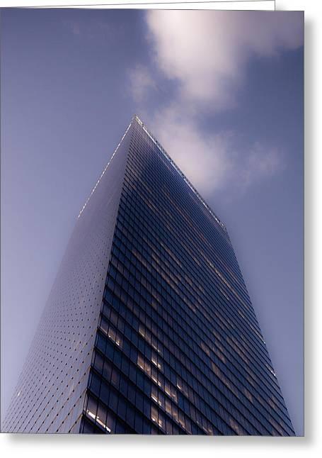 Nyc Buildings Greeting Card by Patrick  Flynn