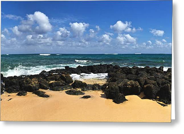 Poipu Beach Kauai Greeting Card