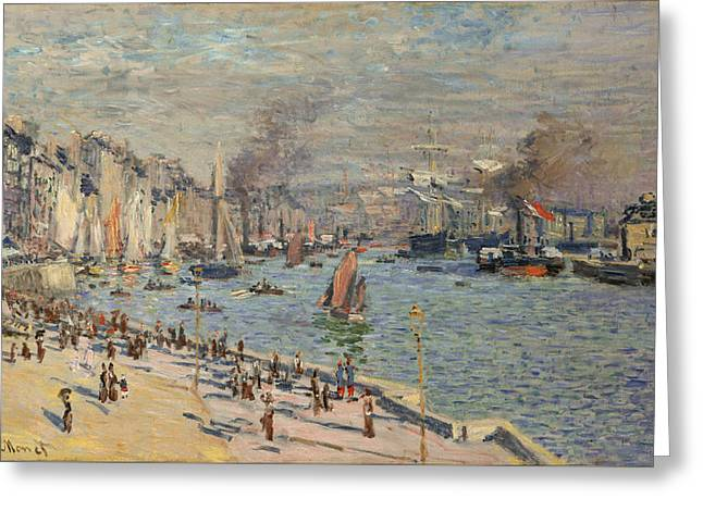 Port Of Le Havre Greeting Card