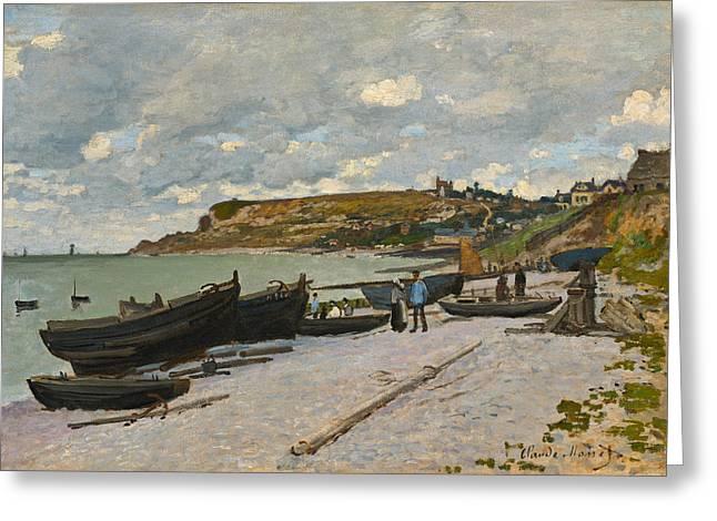 Sainte-adresse Greeting Card by Claude Monet